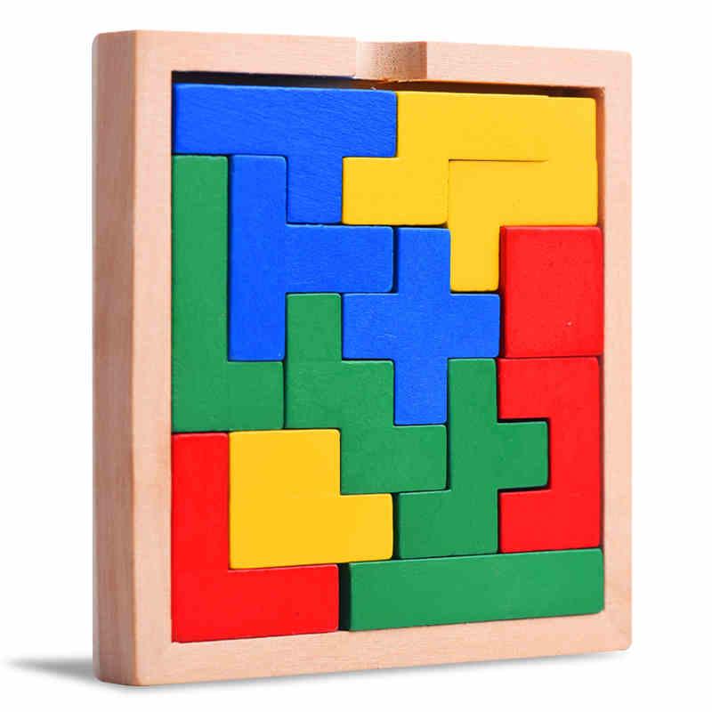 wooden mino puzzle