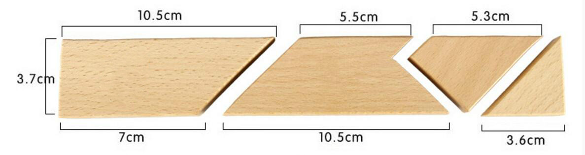wooden T puzzle 's solution