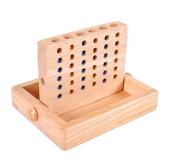 wooden connect Four games
