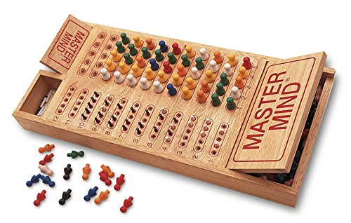 wooden brain teaser board game