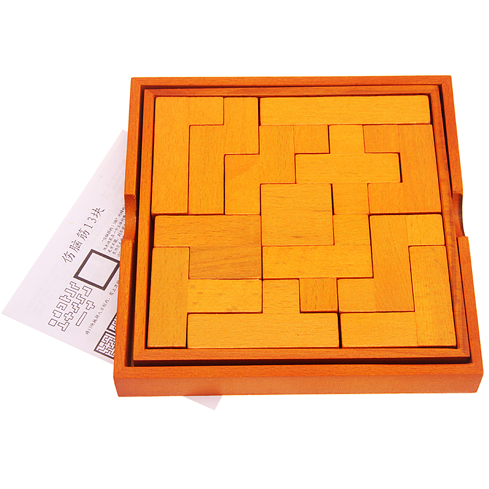 classical wooden Chinese puzzle