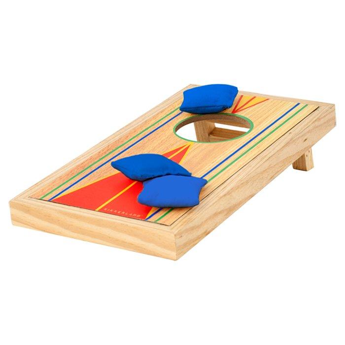 wooden mini toss bag game