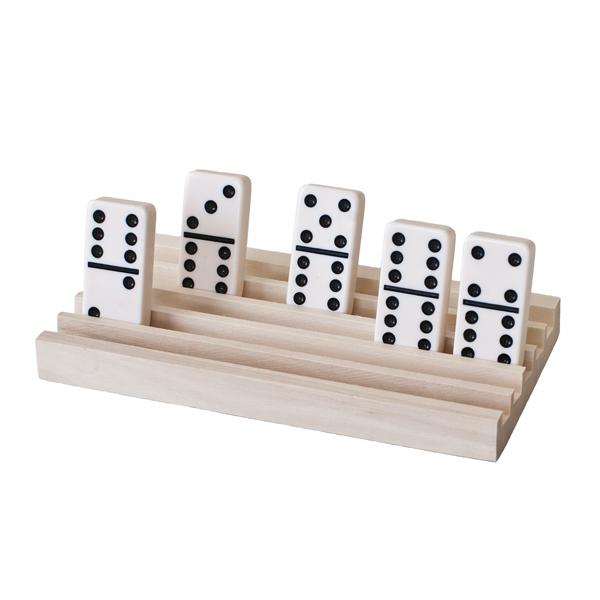 wooden domino accessory