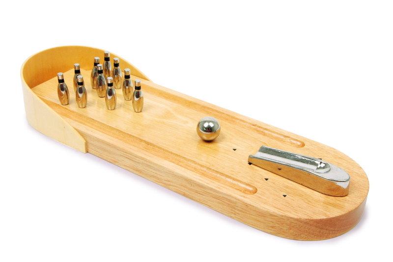wooden desktop game