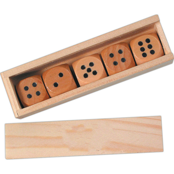 wooden dice for other game