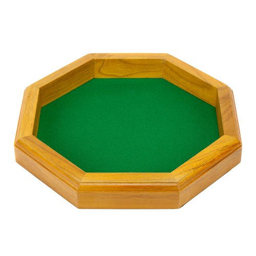 wooden board dice game