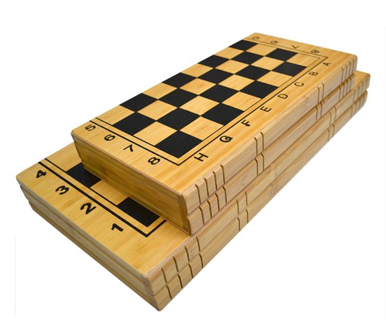 Classic wood chess