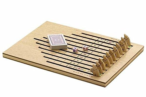 Wooden horse race game