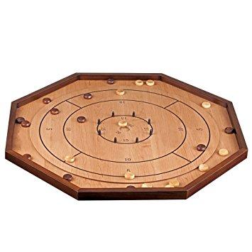Crokinole board game
