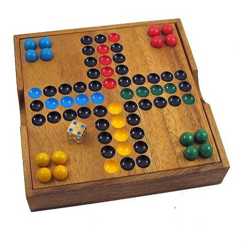 wooden family table game