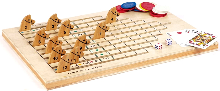 Wooden Racing horse game