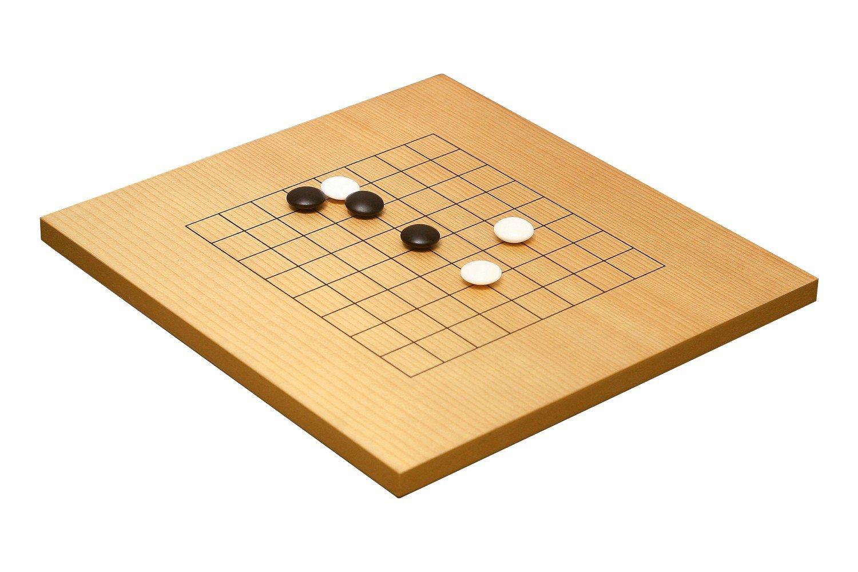 wooden mini go game set