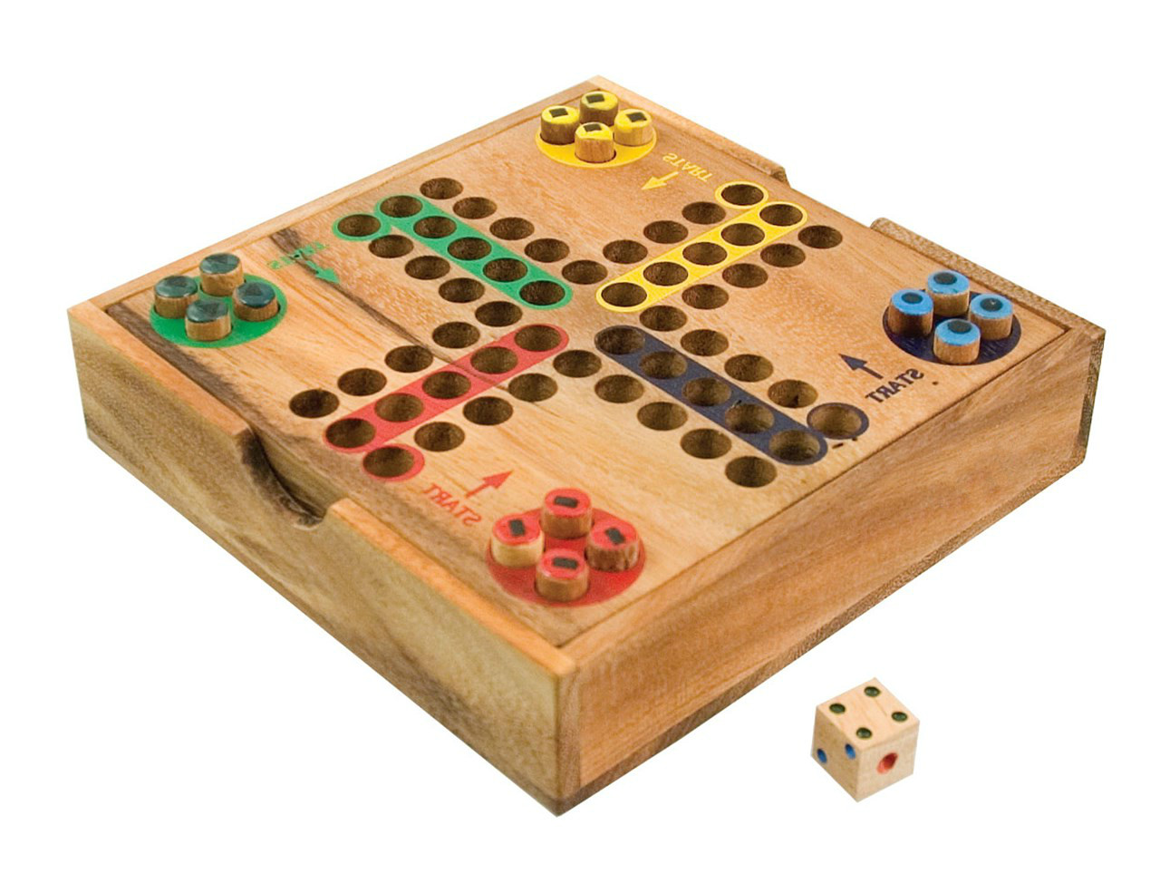 wooden family board game
