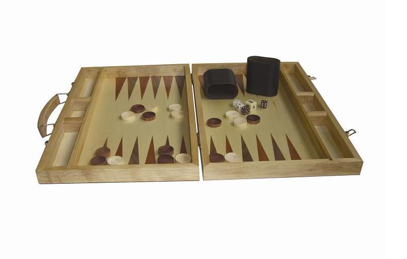 natural wood board game
