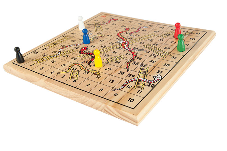 classic wooden board game