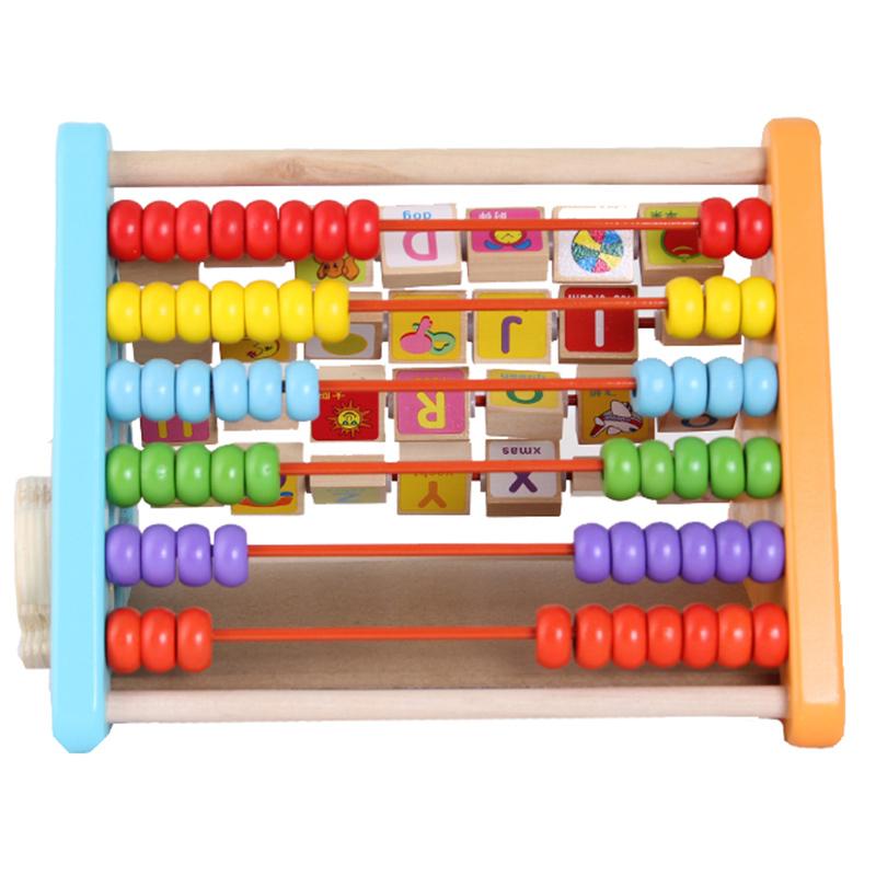 wooden baby preschool learn toy