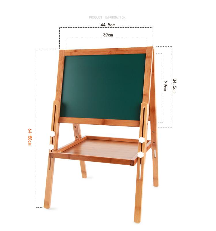 children solid wood blackboard