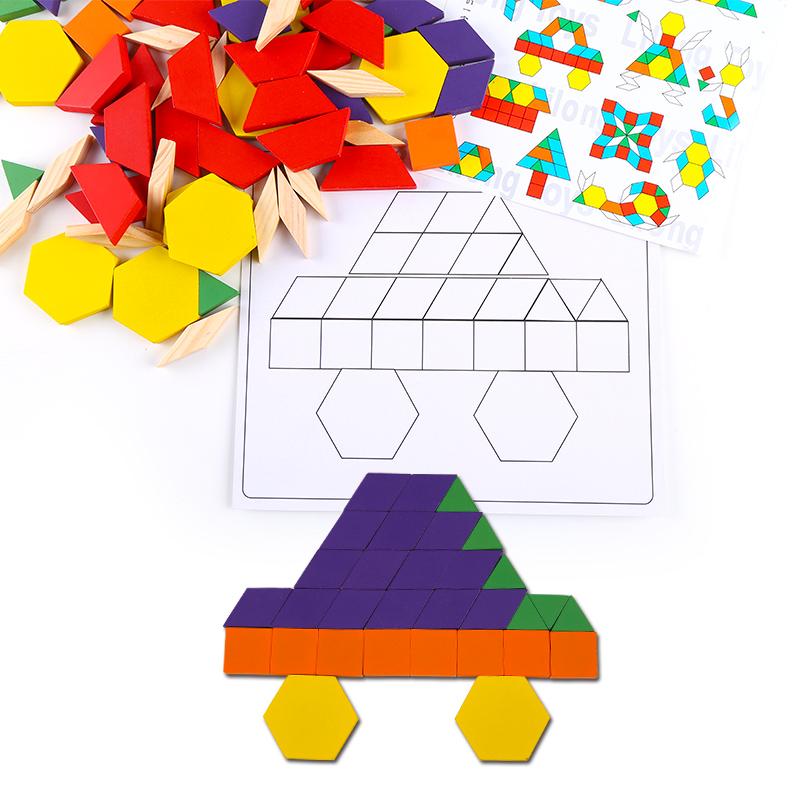 wooden math teaching toy