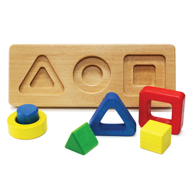 wooden preschool education toy