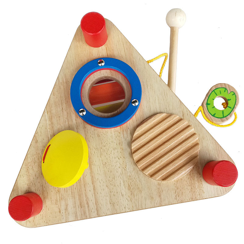 wooden baby musical toy