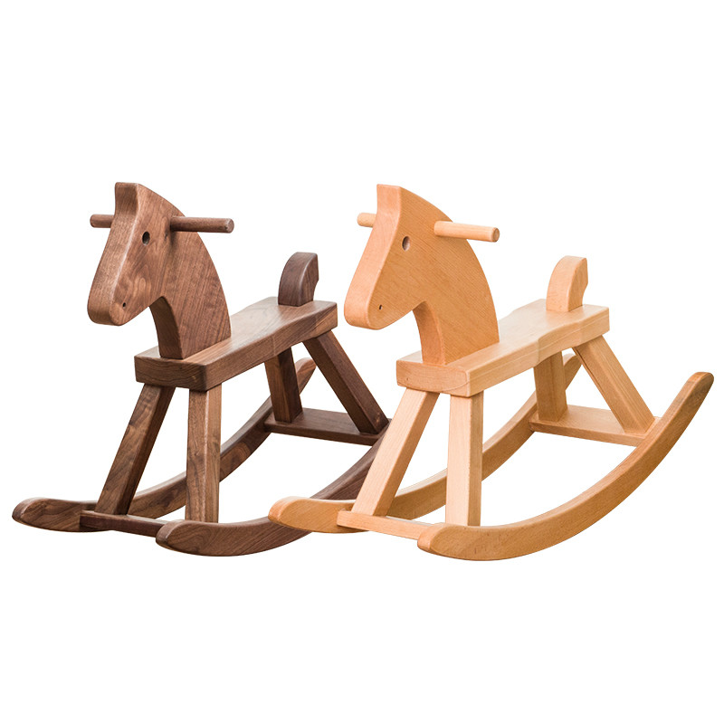 wooden child ride on toy