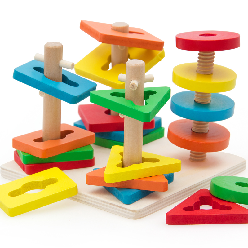 wooden child education toy