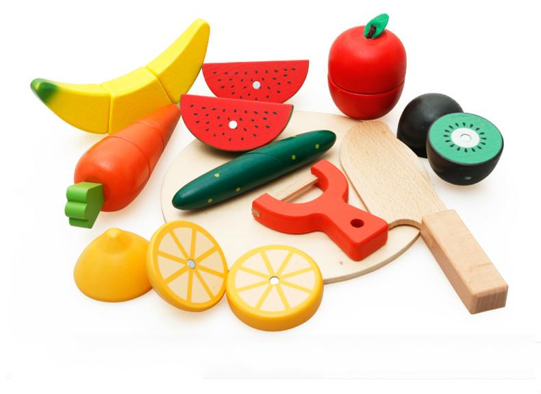 wooden fruit toy for children