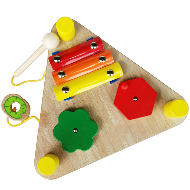 wooden multi musical toy
