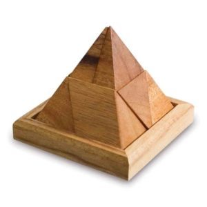 Solid wooden pyramid Puzzle